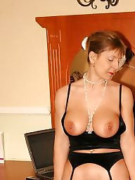 Lady, Mature boobs, Big mature