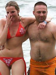Bikini, Oops, Funny, Bikinis, Beach