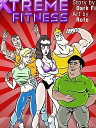 Cartoon, Fitness