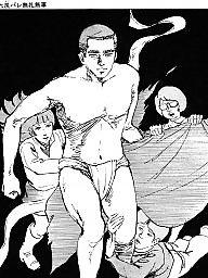 Comic, Comics, Japanese, Boys, Boy cartoon, Asian cartoon