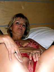 Milf, Mature stockings, Blonde mature, Mature blonde, Mature blond