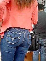 Jeans, Latin ass, Latin, Hidden cam, Hidden, Cam