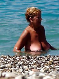 Mature beach, Beach mature, Mature boob, Big boob mature