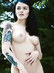 Emo, Tattoo, Woman