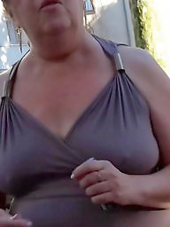 Downblouse, Mature nipples, Downblouses
