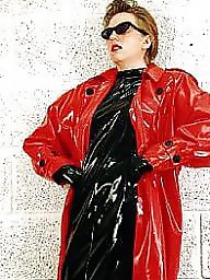 Pvc, Latex, Boots, Leather, Mature porn, Mature leather