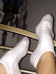 Feet, Socks, Sock, Milf feet