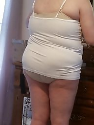Wife, Dress, Dressed, Hairy bbw, Bbw hairy, Naked bbw