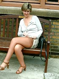 Uk mature, Mature amateurs, Stocking amateur, Mature uk