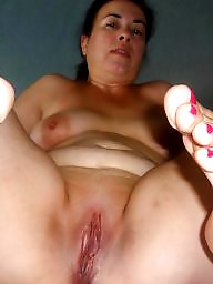 Spreading, Spread, Fat, Moms, Cunt, Mature spreading