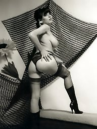 Vintage, Nylon, Lady, Nylons, Ladies, Milf stockings