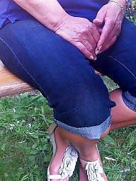Feet, Mature feet, Milf mature