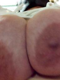 Tied, Bbw tits, Tied tits, Hand, Bbw wife, Bbw big tits