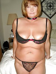Downblouse, Mature bikini, Dressed, Matures, Mature dress, Underwear