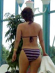 Bikini, Big ass, Candid, Bikinis
