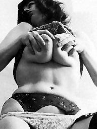 Lady, Vintage amateur, Amateur stockings