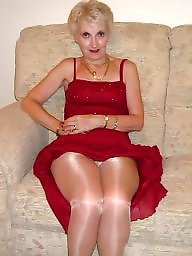Granny, Mature pantyhose, Mature stockings, Stockings, Granny pantyhose, Granny stockings