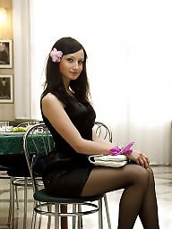 Stockings, Upskirts, Heels, High heels, Tights