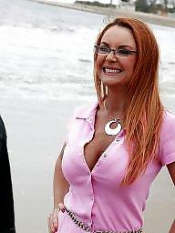 Big boobs, Redhead milf