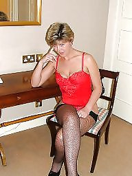 Uk mature, Hotel, Mature stocking, Stocking mature