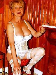 Girdle, Stocking amateur, Girdle stockings