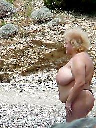 Mature boobs, Beach mature, Mature beach