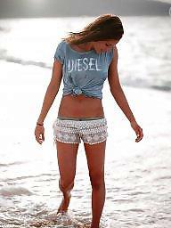 Beach, Sexy lady