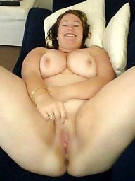 Spreading, Spread, Shaved, Bbw spread