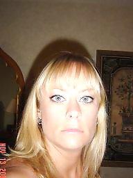 Blonde milf, Milf amateur, Blue