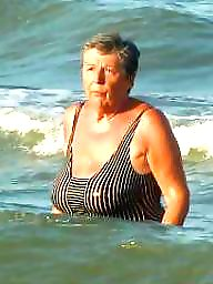 Granny beach, Mature beach, Mature, Grannies, Beach mature, Love