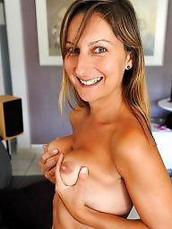 Small tits, Puffy, Big nipples, Small, Puffy tits