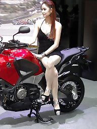 Asian, Heels, Asian pantyhose, High, Motor, High heels