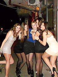 Nylon, Nylons, Upskirt stockings, Street, Nylon stockings, Amateur nylon