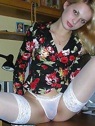 Stocking, Amateur lingerie, Amateur teen, Teen stockings, Teen lingerie, Teen heels