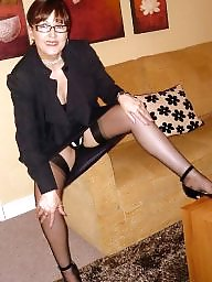 Milf stockings, Mature mix, Stocking mature