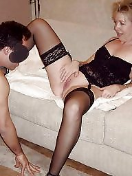Stockings, Hairy stockings, Eating