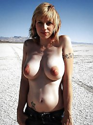 Lady, Mature big tits, Nipple, Big tits mature, Mature nipple