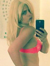 Lingerie, Amateur lingerie, Pink, Bright