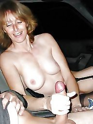 Car, Mature fuck, Fuck, Mature whore, Mature fucking, Exhibitionist
