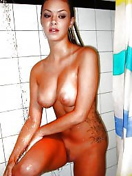 Bathroom, Amateur wife, Mature wife, Wife amateur
