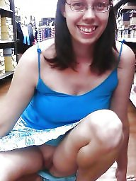 Upskirt, Skirt, Shaved, Shopping, Dress, Up skirt