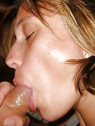 Flash, Wife flashes, Amateur blowjob