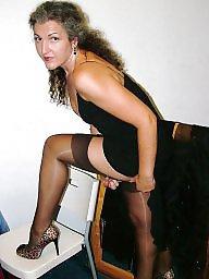 Mature mix, Milf stockings, Sexy milf, Milf stocking