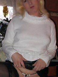 Blonde, German, Used, Housewife, Blonde mature, Mature milf