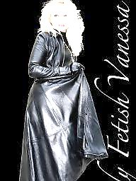 Latex, Pvc, Boots, Leather, Mature boots, Mature leather