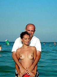 Group, Public sex, Beach sex, Group beach