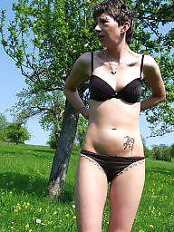 Outdoor, German, Milf outdoor