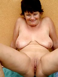 Saggy, Saggy boobs, Granny boobs, Mature, Mature saggy, Big granny