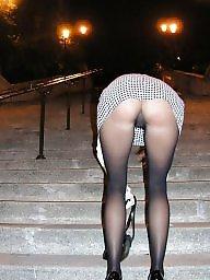 Upskirt stockings, Stocking