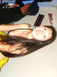 Asian, Public, Party, Wild, Star, Public nudity